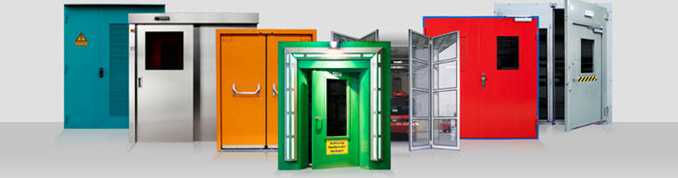 SECURE ALU DOUBLE LEAF DOOR EI. EW SERIES